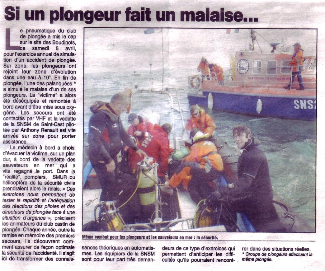2014 - article petit bleu SNSM